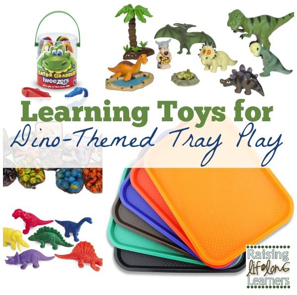 Learning Toys for Dino-Themed Tray Play