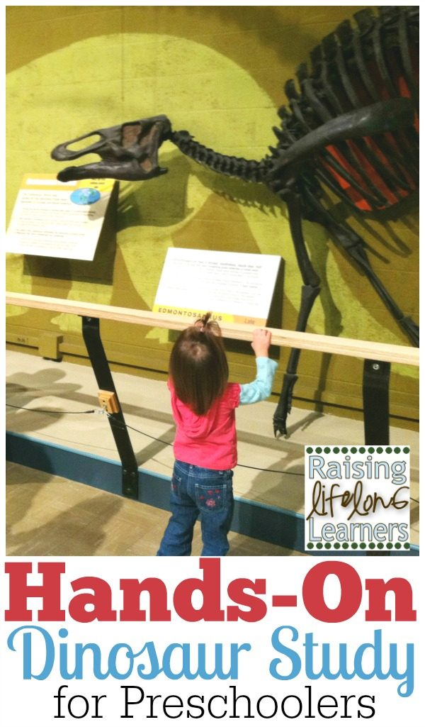Preschool Science: Hands-On Dinosaur Study and Field Trip