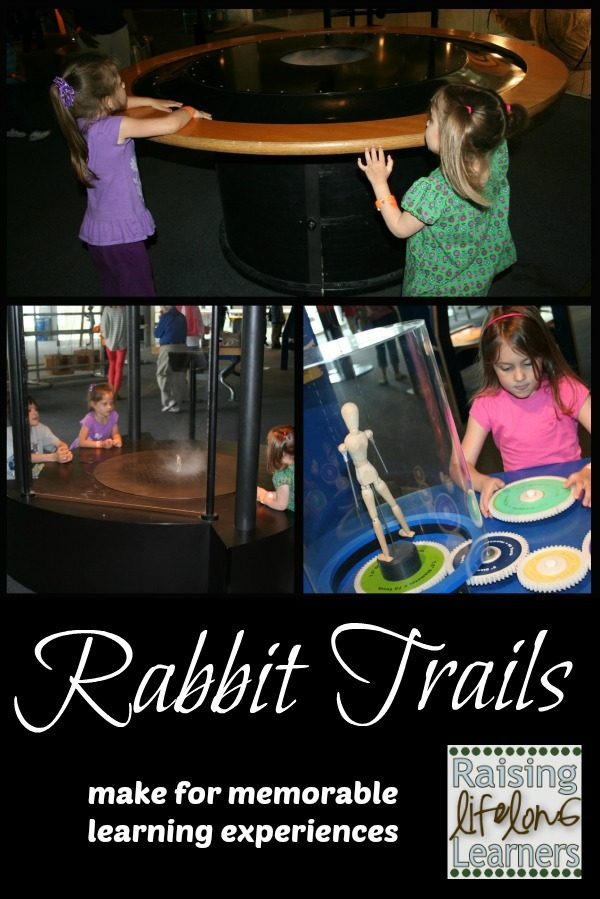 Rabbit Trails Make for Memorable Learning Experiences