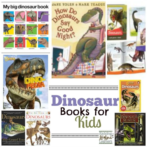 Great Dinosaur Books for Kids