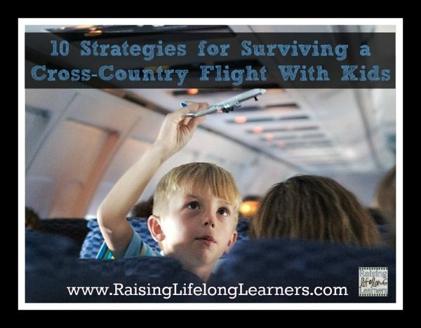 10 Strategies for Surviving a Cross Country Trip with Kids