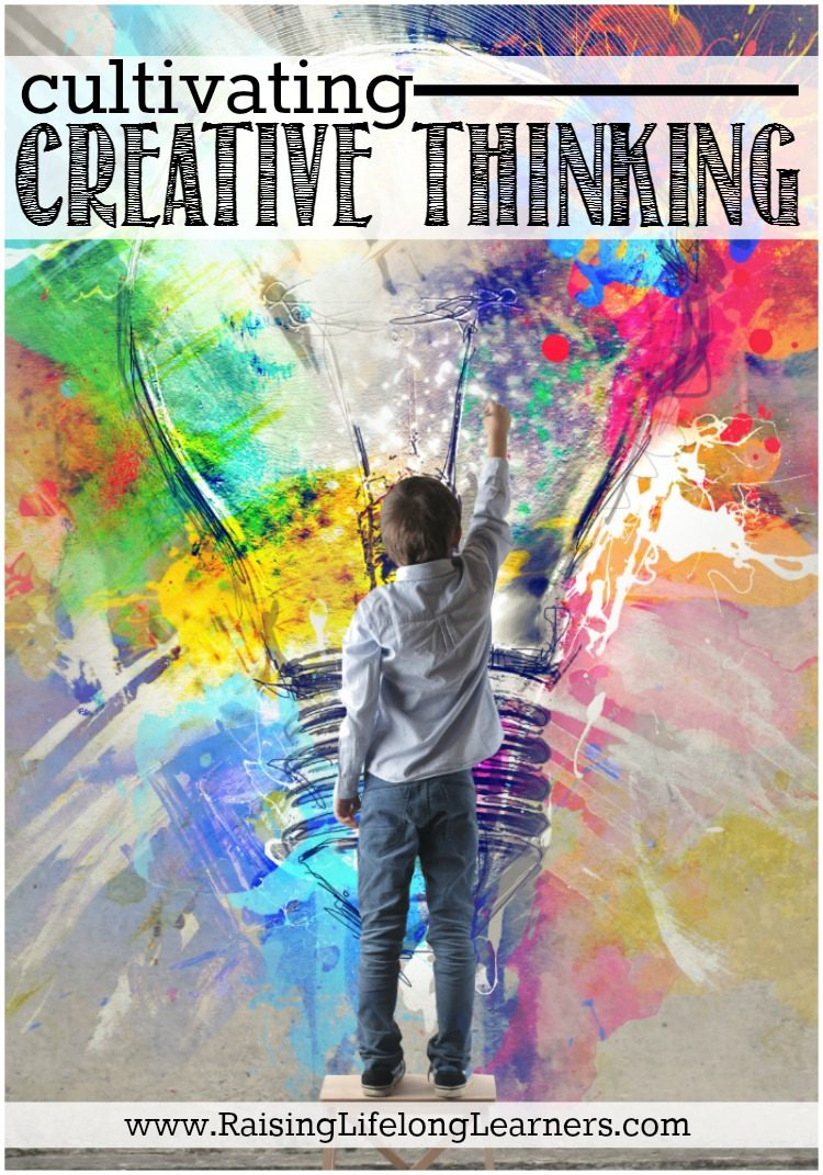 Cultivating Creative Thinking ~Creative thinking is a crucial skill for kids of all ages. Teachers and parents need to include critical, creative, and logical thinking games, activities, and puzzles into their teaching and conversations with children. No matter how old a child is, he or she will benefit from this.