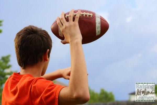 Super Bowl Writing Activities - Making Writing Fun for Boys