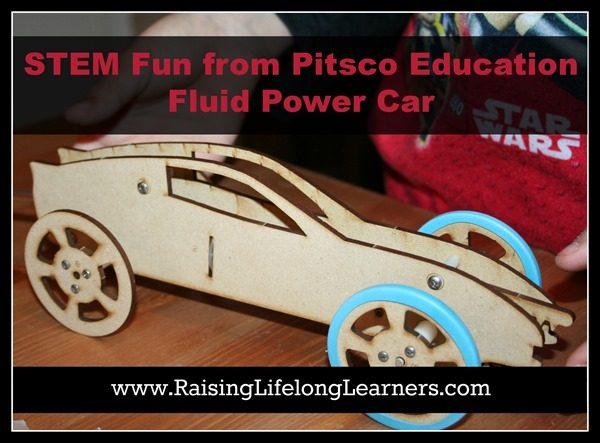 STEM Fun from Pitsco Education: Fluid Power Car