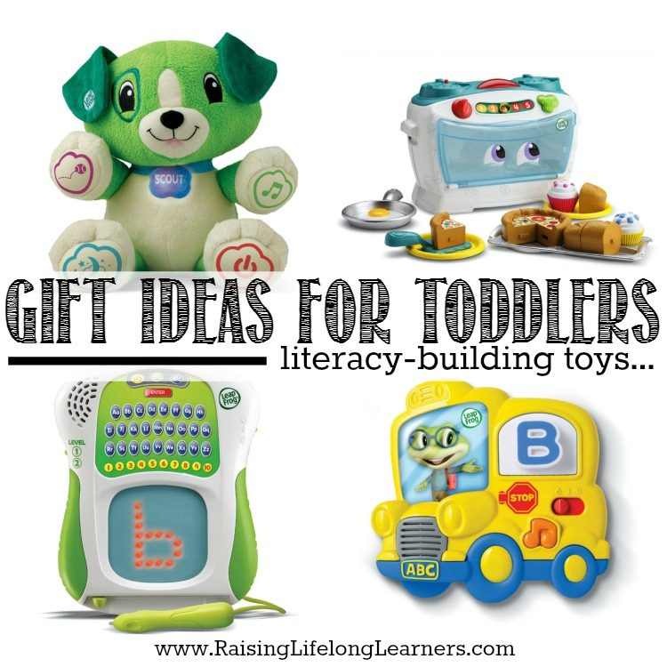 Gifts for Gifted Kids - Gift Ideas for Toddlers - Literacy Building Toys