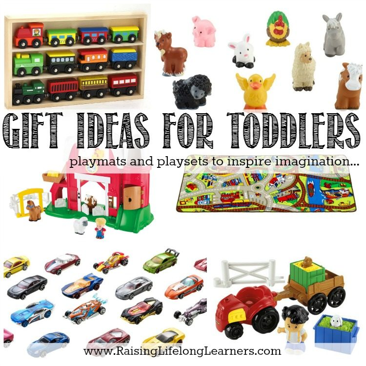 Gifts for Gifted Kids - Gift Ideas for Toddlers - Playmats and Playsets to Inspire Imagination