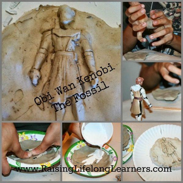 Making Fossils via www.RaisingLifelongLearners.com