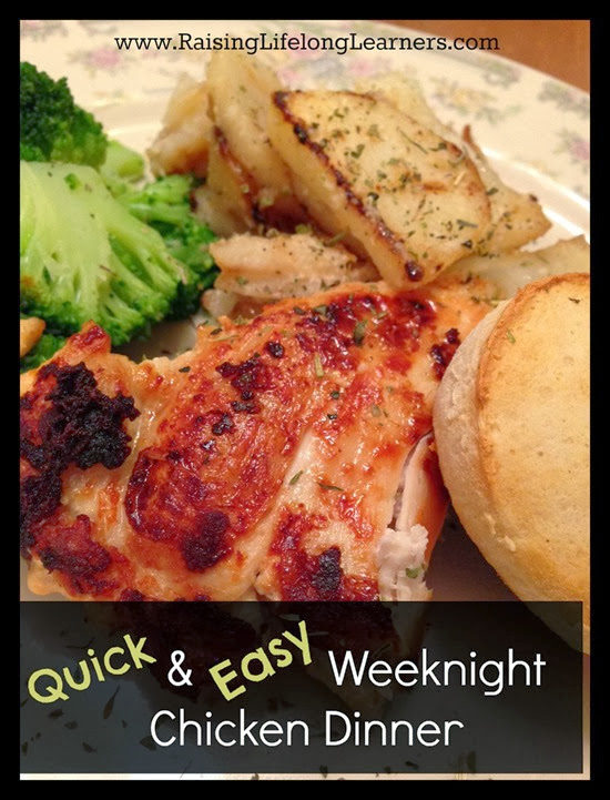 Quick and Easy Weeknight Chicken Dinner