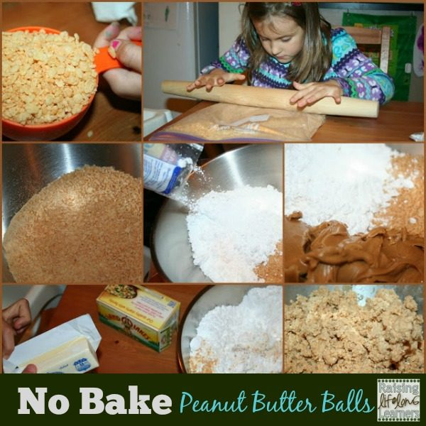 Easy No Bake Peanut Butter Balls Recipe