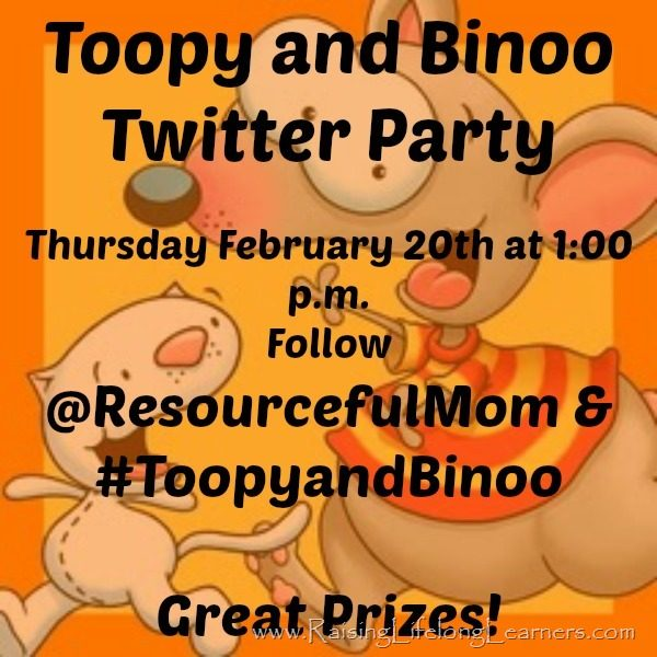 It's a Virtual Party with Toopy & Binoo
