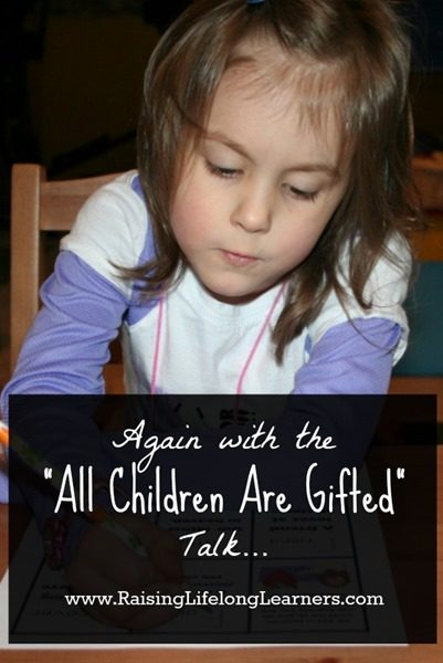 All Children Are Gifted