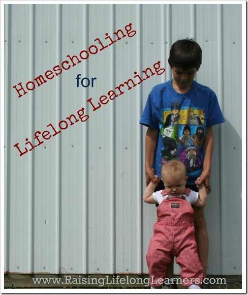 Homeschooling to encourage Lifelong Learning