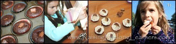 Making Candy Stuffed Cupcakes