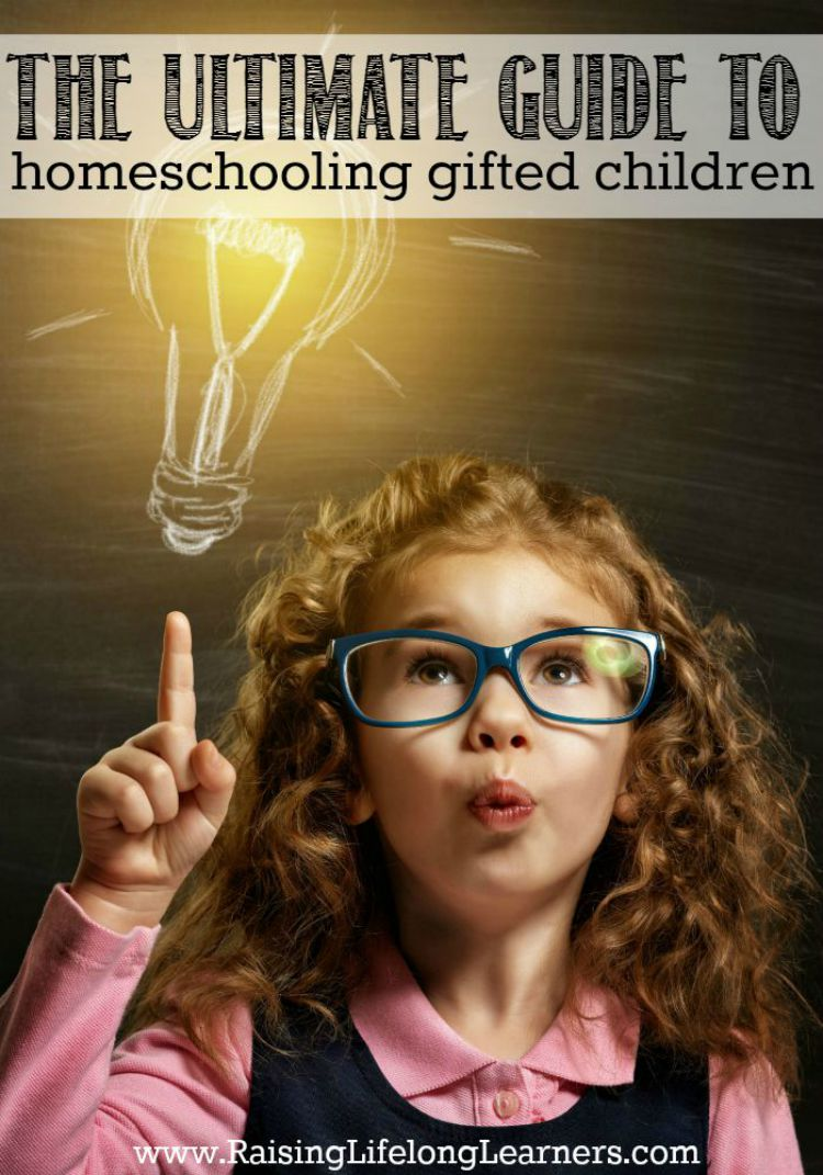 The Ultimate Guide to Homeschooling Gifted Children