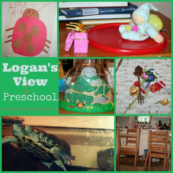 A Preschoolers View of Homeschool