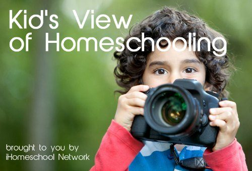 a kids view of homeschooling hop