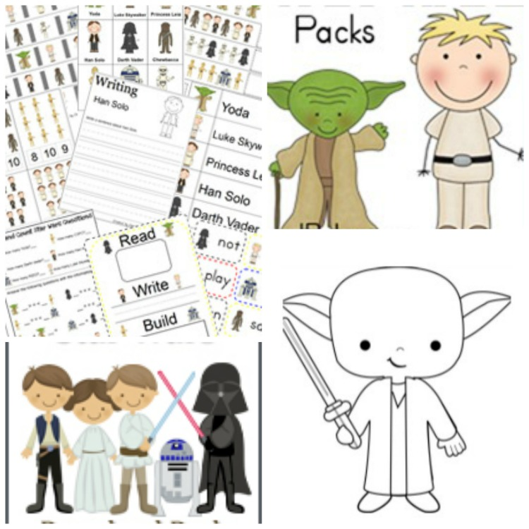 Star Wars Learning Activities for Young Fans