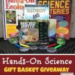 Hands On Science Gift Basket Giveaway via www.RaisingLifelongLearners.com