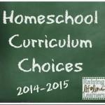 Homeschool Curriculum Choices via www.RaisingLifelongLearners.com