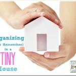 Organizing Your Homeschool in a Tiny House via www.RaisingLifelongLearners.com