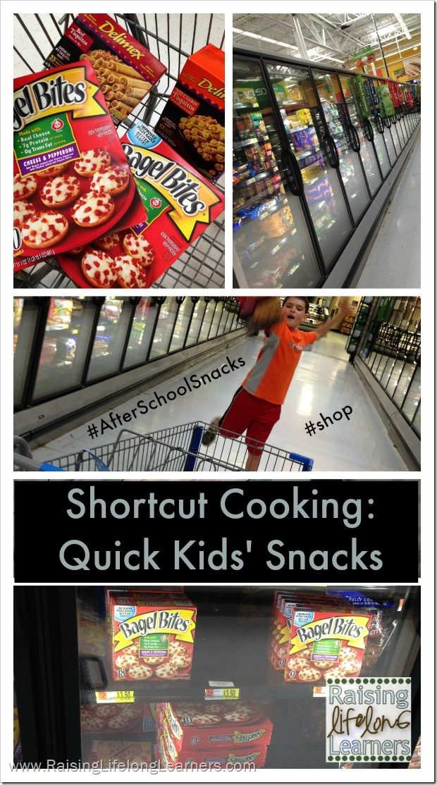 Shortcut Cooking Quick Kids' Snacks via www.RaisingLifelongLearners.com #AfterSchoolSnacks #Shop