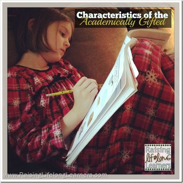 Understanding the Academically Gifted Child via www.RaisingLifelongLearners.com