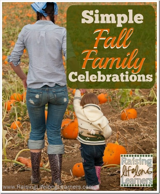Simple Fall Family Celebrations