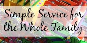 Simple Service for the Whole Family