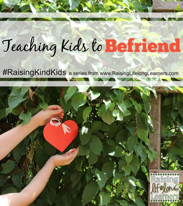 Teaching Kids to Befriend Others
