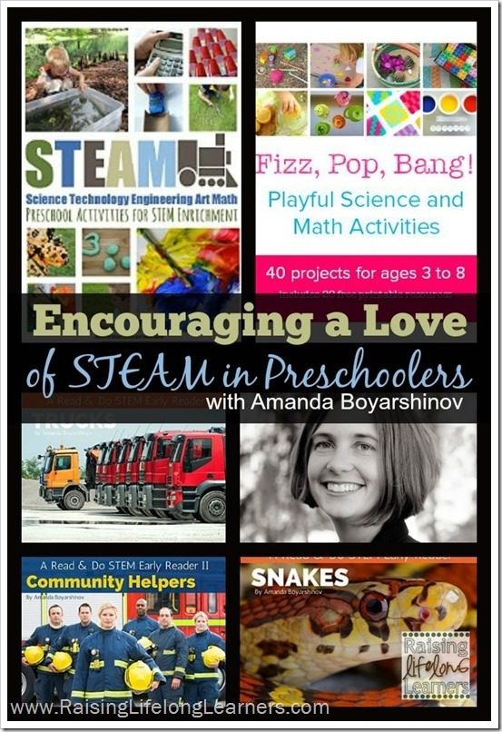 Encouraging a Love of STEAM in Preschoolers