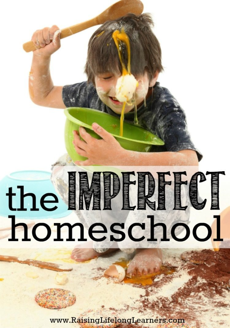 The Imperfect Homeschool-Moms, everyone has an imperfect homeschool. Everyone's home is imperfect. We all struggle. We all fail. And we all have successes that make this worth it...
