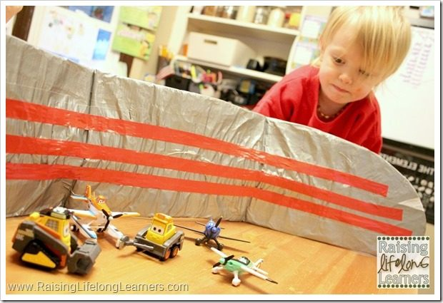 DIY Airplane Wings for Creative Play