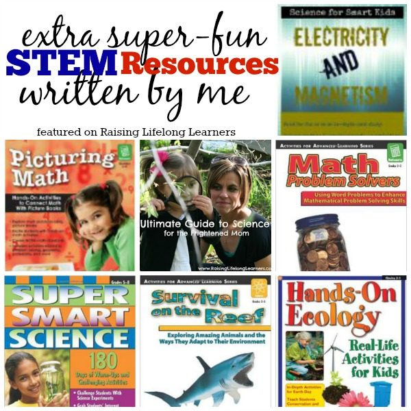 Extra Super Fun STEM Resources Written by Colleen Kessler via www.RaisingLifelongLearners.com