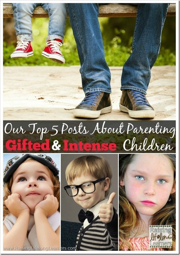 Top 5 Posts About Parenting Gifted and Intense Children