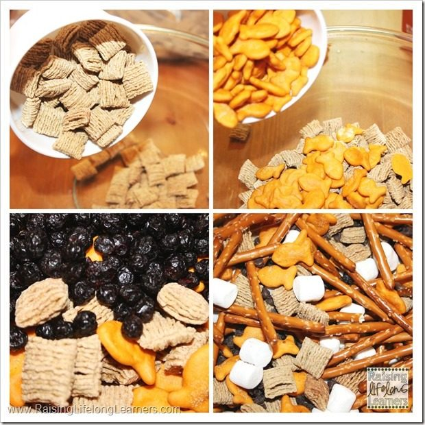 Easy Snack Mix featuring Quaker Squares #LoveMyCereal #QuakerUp #spon