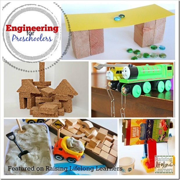 Featured Engineering for Preschoolers Activities