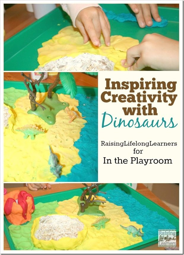 Inspiring Creativity with Dinosaurs