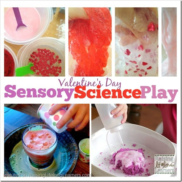 Valentines Day Sensory Science