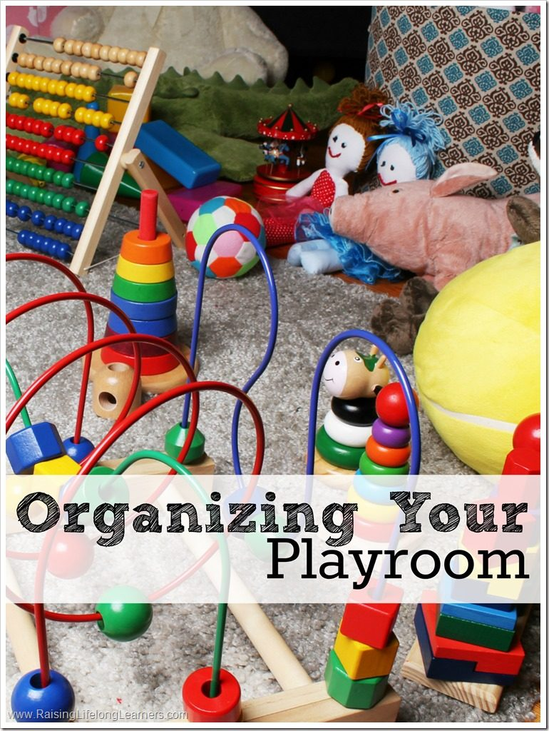 Organizing Your Play Room