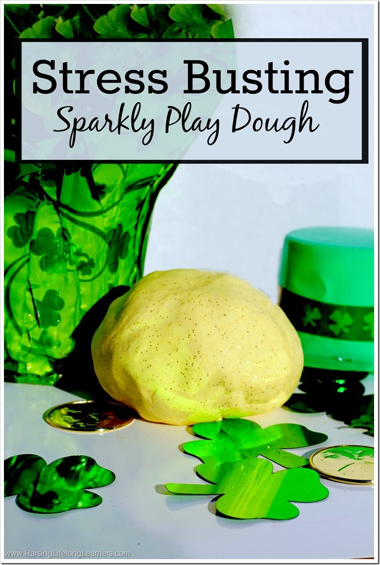 Stress Busting Sparkle Dough Recipe