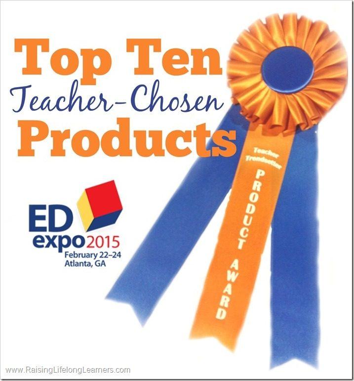 EdExpo2015: Top Ten Teacher-Chosen Products of the Year