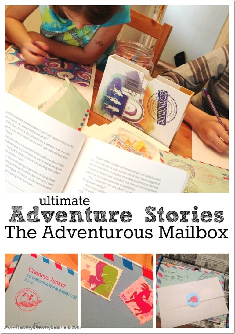 Ultimate Adventure Stories The Adventurous Mailbox Subscription for Kids