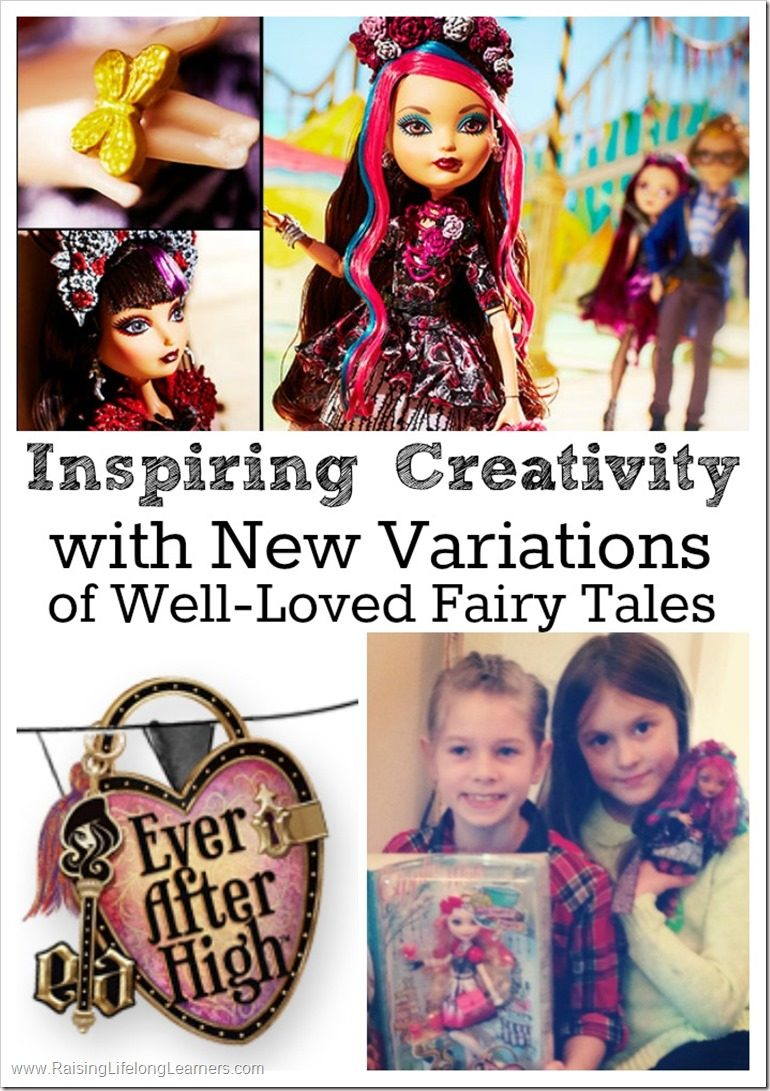 Inspiring Creativity with Different Variations of Well-Loved Fairy Tales