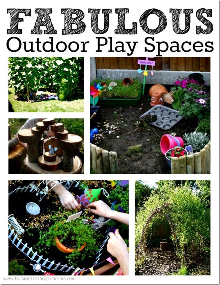 Fabulous Outdoor Play Spaces