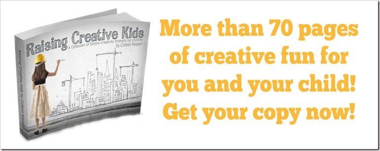 Raising Creative Kids eBook