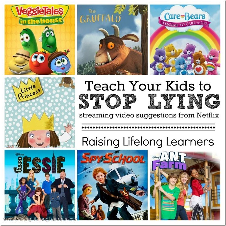 Teach Your Kids to Stop Lying - Video Suggestions from Netflix #StreamTeam