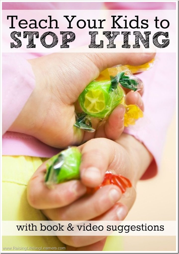 Teach Your Kids to Stop Lying #StreamTeam