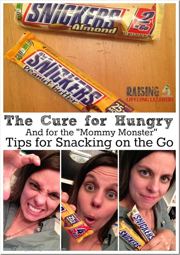Tips for Snacking on the Go #WhenImHungry #ad