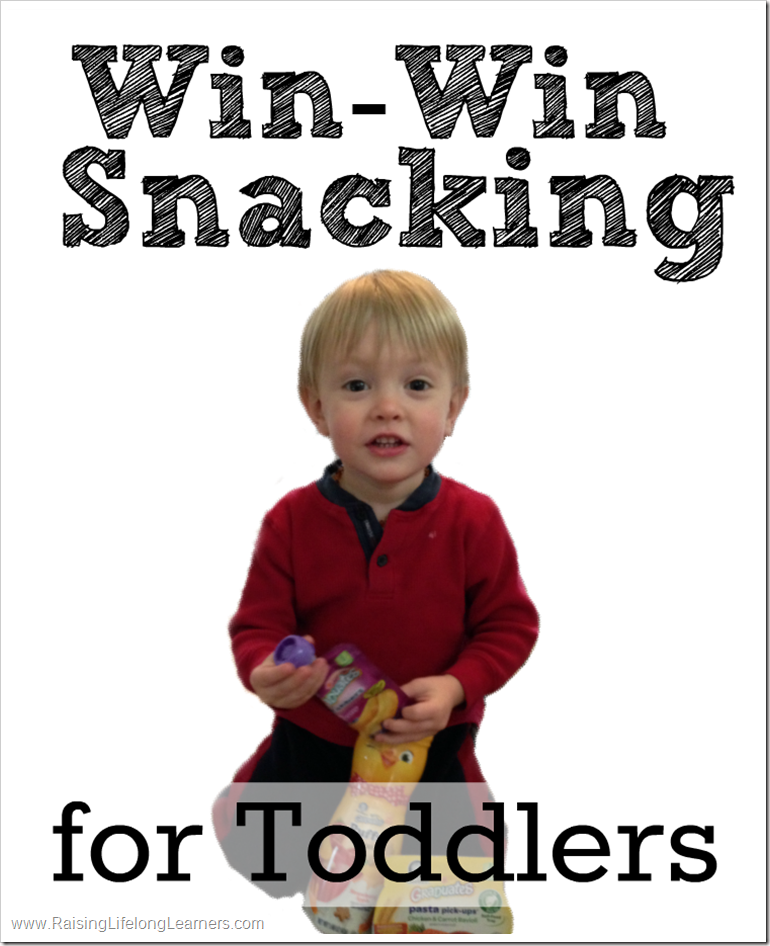 Win-Win Snacking for Toddlers