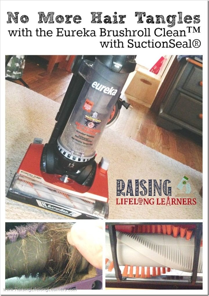 No More Hair Tangles with the Eureka Brushroll Clean with SuctionSeal #CleaningUntangled #ad